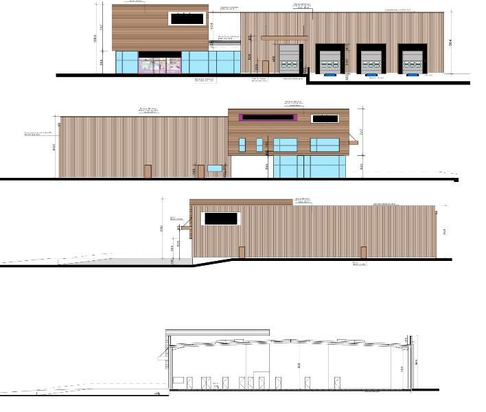 Construction d'un bâtiment de stockage et de bureaux - Dpt 27