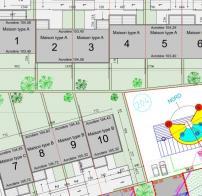 Construction de 10 maisons jumelées à BOURGUEBUS (14)