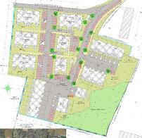 Construction de logements collectifs et maisons jumelées à Giberville (14)
