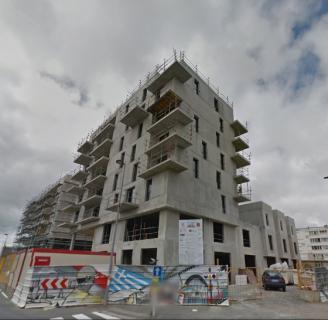 Construction d'un immeuble collectif d'habitation avec zone tertiaire à Hérouville saint clair (14)