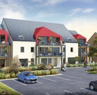 Construction de logements collectifs à démouville (14)