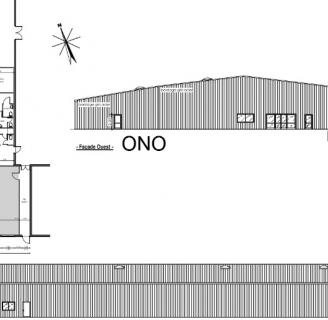 Extension d'un bâtiment de bureaux et de stockage