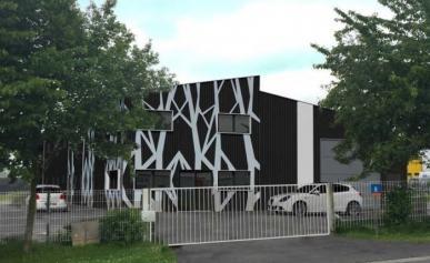 Aménagement de l'entreprise ADAPTEE et du SESSAD : Transformation et extension d'un bâtiment industriel