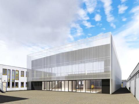 Construction d'un atelier automobile poids lourds et aménagements de locaux existants