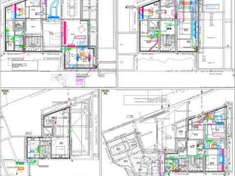 Rénovation d'une villa en 3 logements
