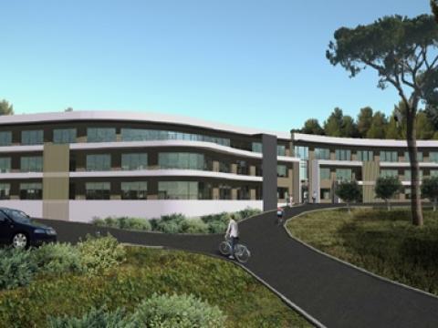 Construction d'un immeuble de bureaux à BIOT (06)