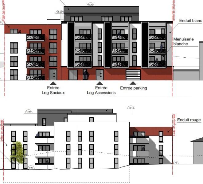 Construction d'un bâtiment de logements collectifs - CAEN (14)