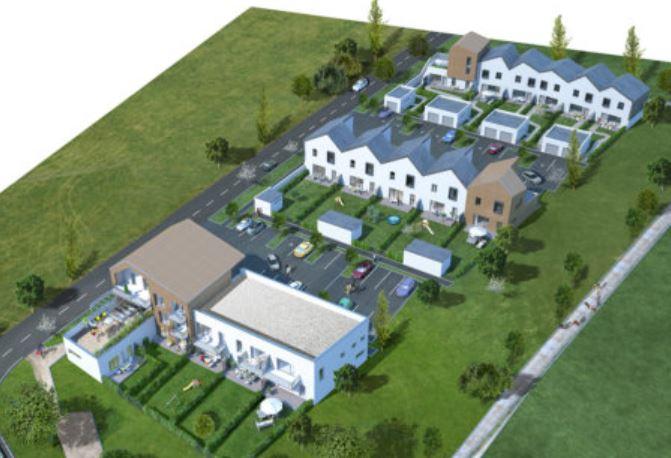 Construction de 10 maisons individuelles et 14 logements intermédiares