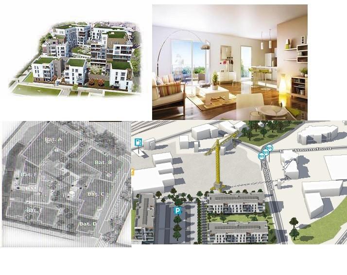 Construction de 205 logements collectifs et d'une concession automobile avec atelier à ROUEN (76)