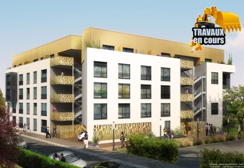 Construction d'un bâtiment de logements sociaux et étudiants - CAEN (14)