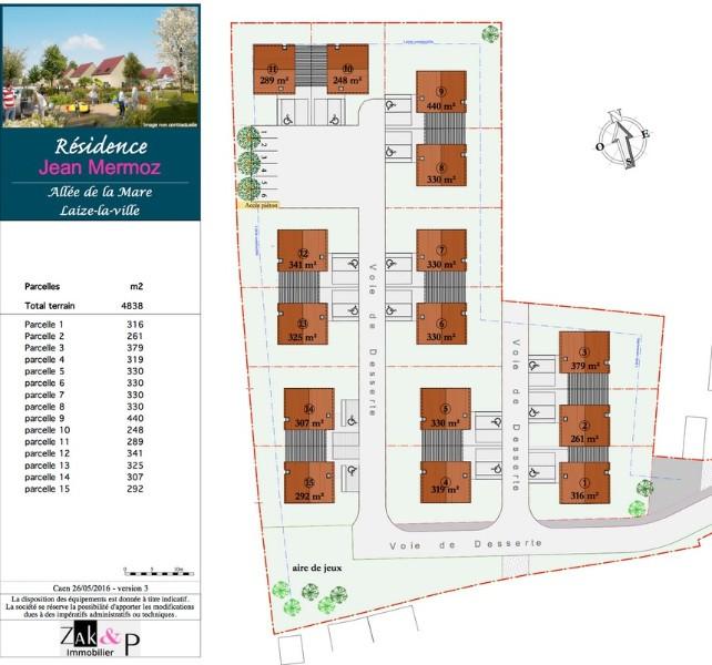 Construction de 15 Maisons Individuelles à LAIZE-LA-VILLE (14)