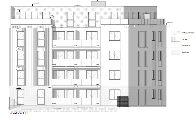 Réalisation de 25 logements collectifs