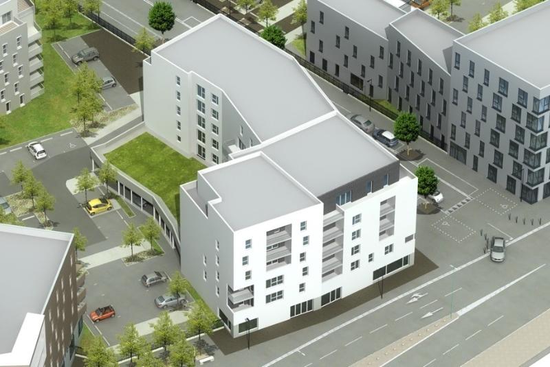 Construction d'un immeuble de 56 logements collectifs et de locaux d'activités