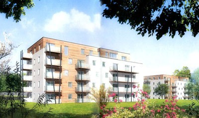 Construction de logements collectifs à Hérouville saint clair (14)