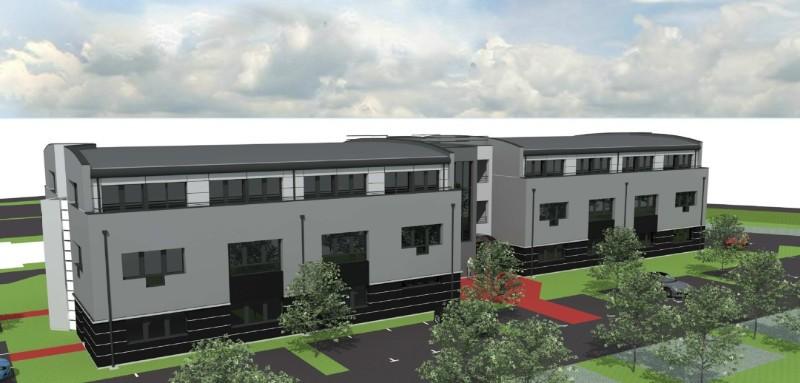 Construction d'un immeuble de bureaux - SAINT CONTEST (14)